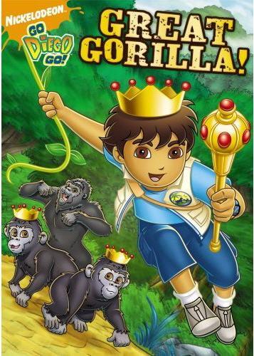 GO, DIEGO, GO!:GREAT GORILLA! BY GO DIEGO GO (DVD)